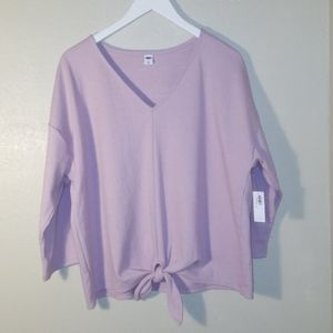 NWT Old Navy Lavender Toe Front Spring Top…